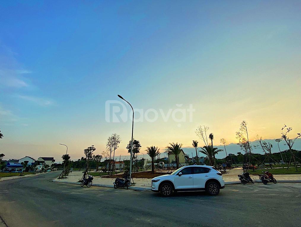 Đất trung tâm thành phố măt tiền 5x20 đường ôtô giá 450tr