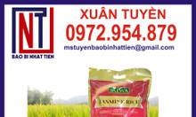Bao bì gạo 5kg, công ty in bao bì gạo