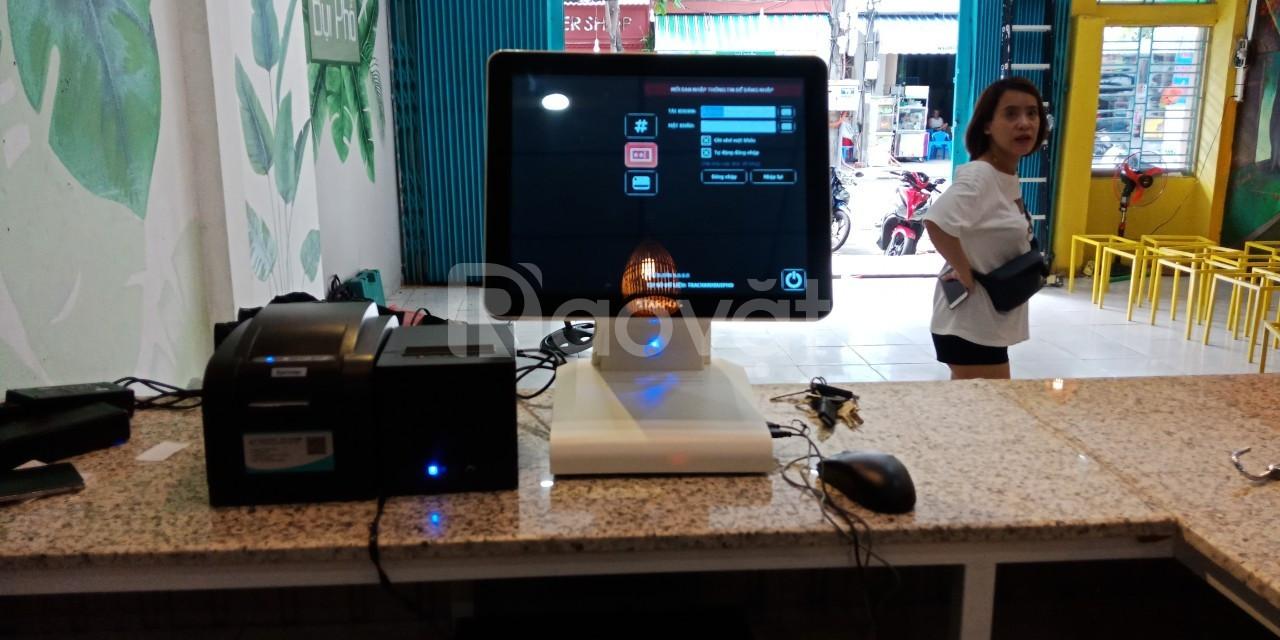 Bộ máy tính tiền dành cho quán trà chanh bụi phố giá rẻ (ảnh 1)