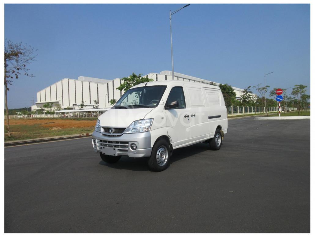 Xe Thaco Towner Van 2S tải 945 kg, 2 chỗ ngồi, vào tp 24h mỗi ngày