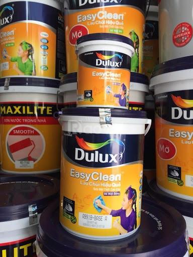 Đại lý sơn nước Dulux nội thất lau chùi hiệu quả giá rẻ ở TP.HCM