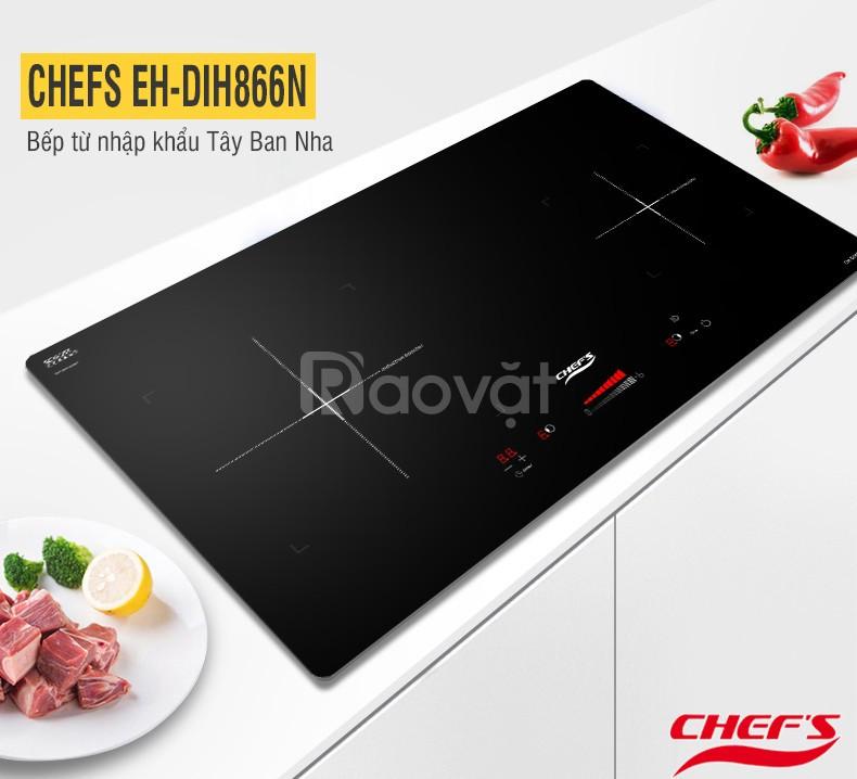Trải nghiệm mới mẻ trên bếp từ Chefs EH DIH866N