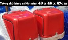 Thùng nhựa chở hàng cách nhiệt, thùng chở hàng xe máy