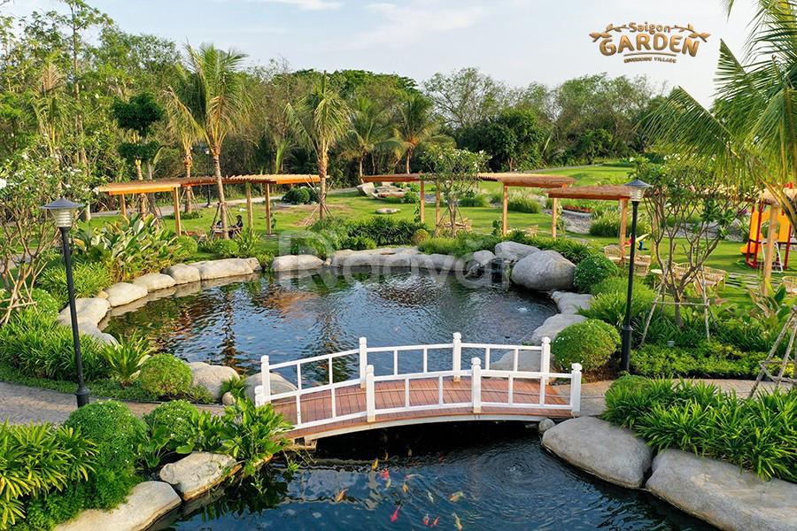Đất nền biệt thự Hưng Thịnh Saigon Garden Riverside Village