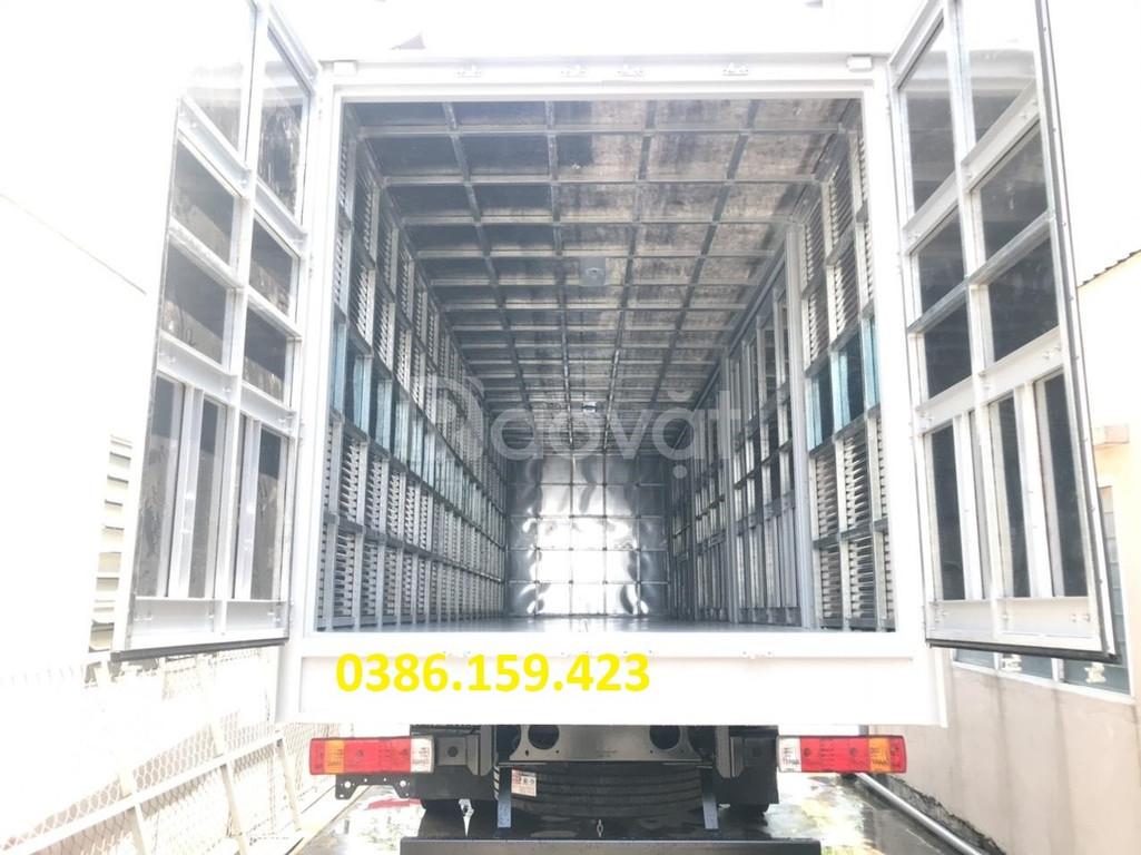 Xe tải faw 8 tấn thùng dài 8 mét - 2020, KM 10% phí trước bạ.