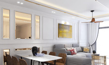 BQL GoldSeason cho thuê 2PN, 3PN nội thất cơ bản, full đồ
