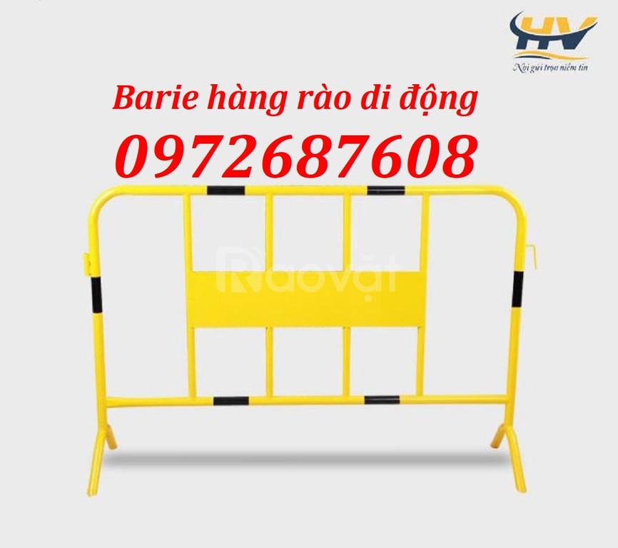 Barie rào chắn di động, bảo hộ lao động, khung hàng rào di động