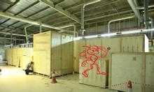 Dịch vụ đóng kiện gỗ máy móc xuất khẩu tiêu chuẩn Châu Âu