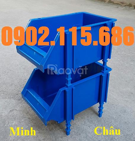 Khay linh kiện xếp tầng, khay nhựa xếp tầng, kệ dụng cụ xếp tầng (ảnh 8)