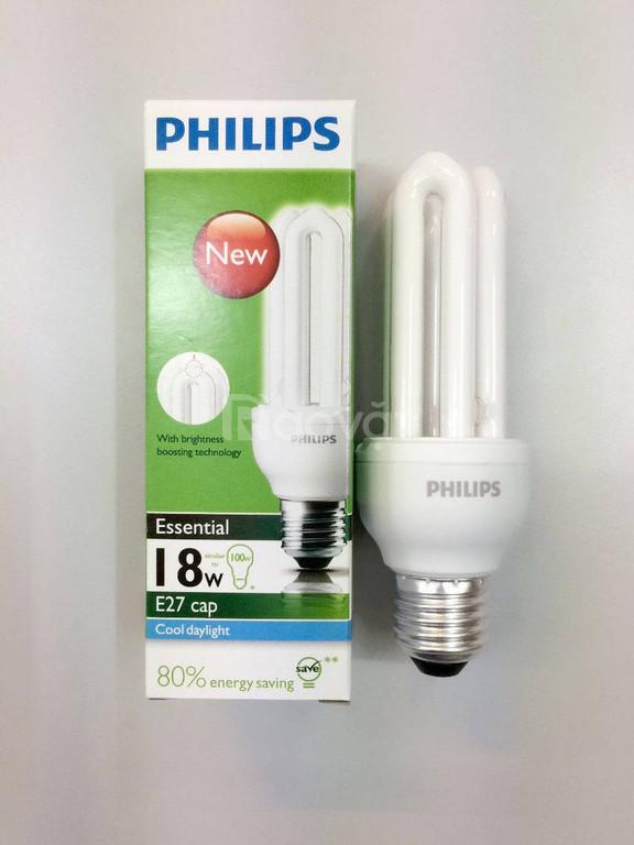 Bóng đèn compact philips 18w - 3u