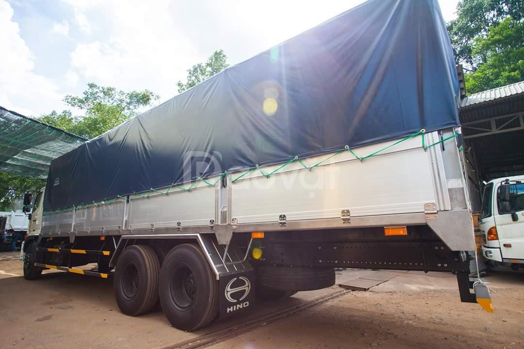 Xe tải thùng FL8JT7A thùng mui bạt nhôm dài 7,7m
