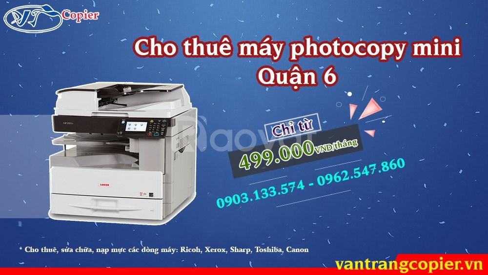 Cho thuê máy photocopy mini quận 6