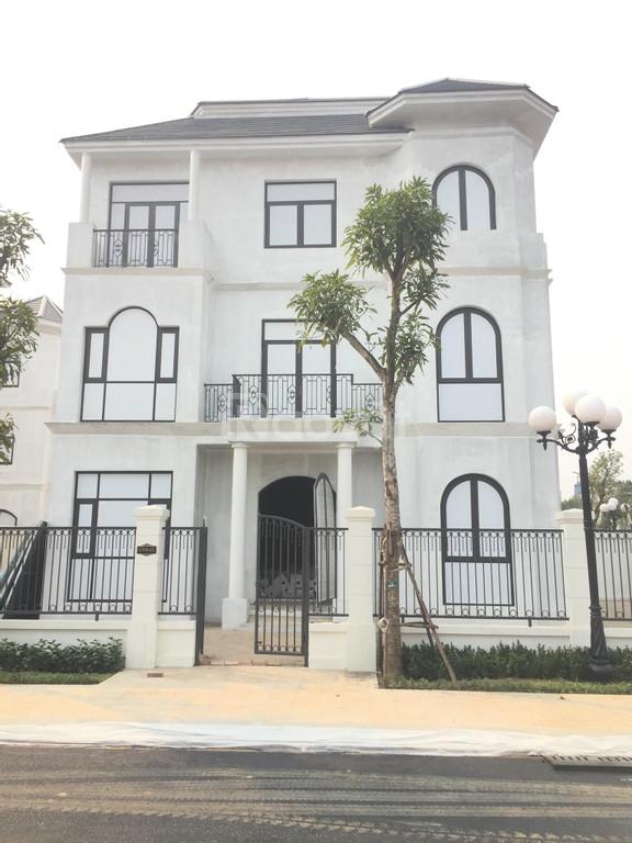 Cần bán căn biệt thự đơn lập Vinhomes Smart City, DT 288m2, căn góc