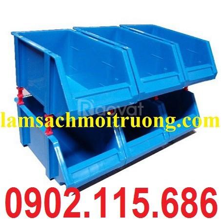 Khay linh kiện xếp tầng, khay nhựa xếp tầng, kệ dụng cụ xếp tầng (ảnh 4)