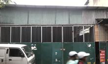 Cho thuê 5000m2 đất nhà xưởng ở chân cầu Thanh Trì, Hoàng Mai