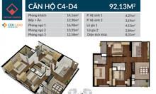 Bán căn hộ 100m2-3PN ban công ĐN tại Việt Đức Complex giá chỉ 2,9 tỷ