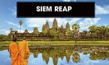 Xe đi thành phố Siem Reap Campuchia