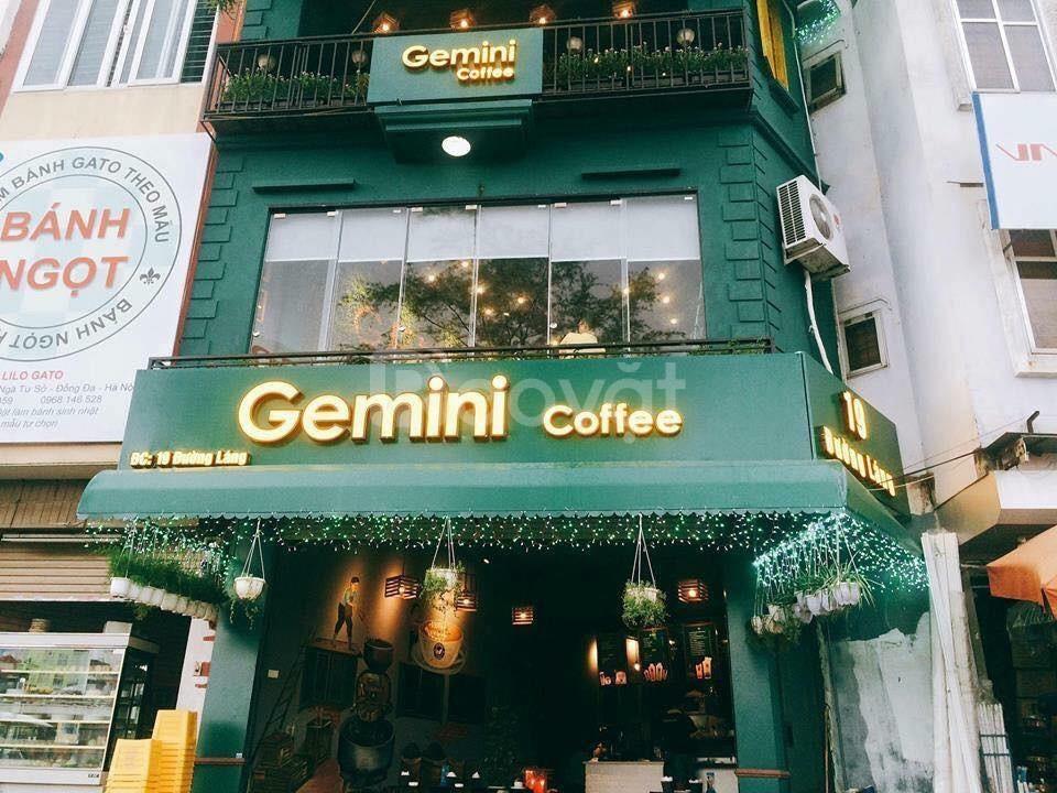 Cho thuê tầng 4 Gemini số 19 đường Láng, view đẹp giá tốt