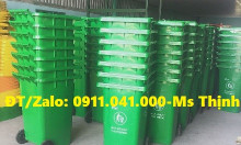 Công ty phân phối thùng rác HDPE