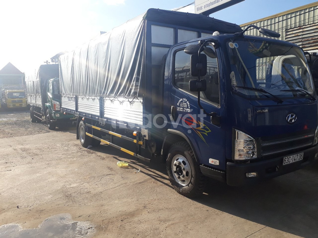 Xe tải faw 7 tấn - động cơ hyundai thùng 6m3 ga cơ | Hỗ trợ trả góp