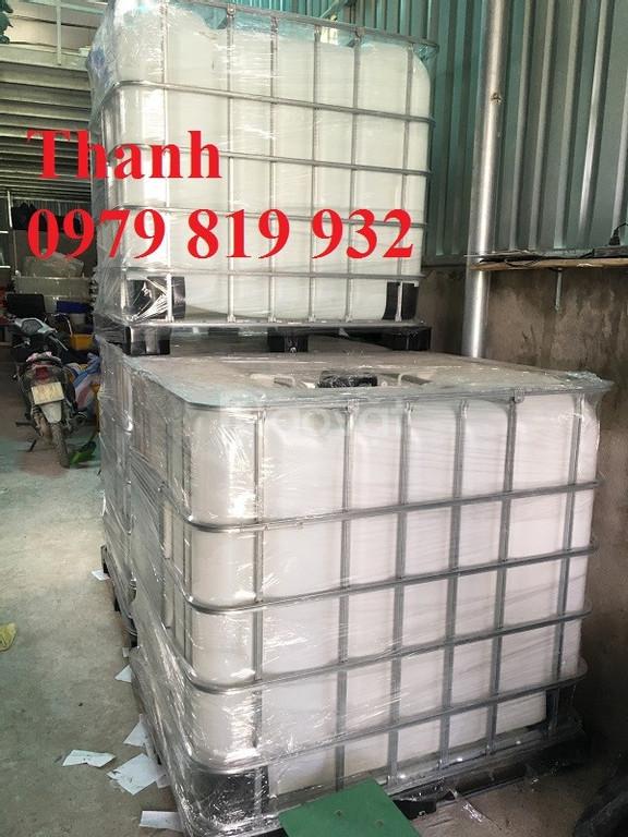 Bán tank nhựa 1000l có khung sắt 1000l (ảnh 5)