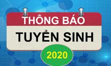 Đào tạo Trung cấp chính quy năm 2020