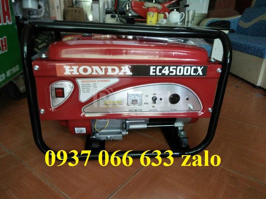 Máy phát điện Honda 3kw EC4500CX đề nổ cho gia đình