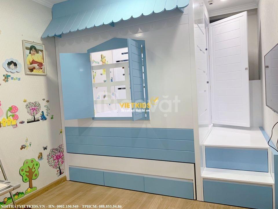Giường tầng ngôi nhà tí hon cực ngỗ nghĩnh cho bé (ảnh 4)