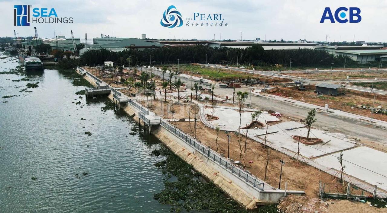 Dự án nhà phố The Pearl Riverside Bến Lức Long An, vị trí đắc địa