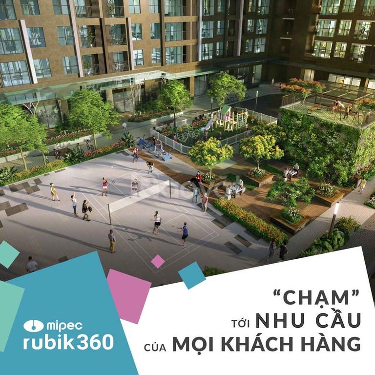 Tầng ngoại giao đẹp nhất dự án Mipec Rubik 360