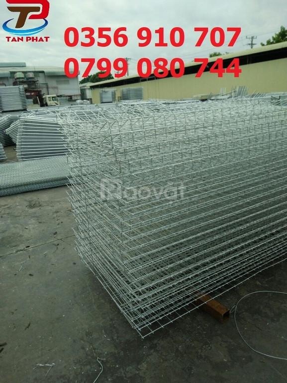 Hàng rào mạ kẽm, hàng rào lưới thép, hàng rào đẹp D5 a50*200