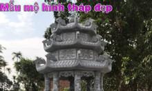 Mẫu mộ hình tháp để hài cốt bằng đá đẹp giá rẻ