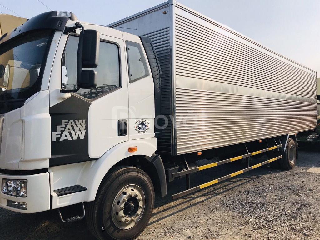 Xe tải thùng dài 10m, xe tải faw 7t25 thùng dài 10m độc quyền
