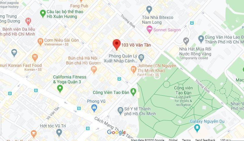 Cho thuê VP view thoáng, giá tốt tòa Aurora 103 Võ Văn Tần, P6, Q3
