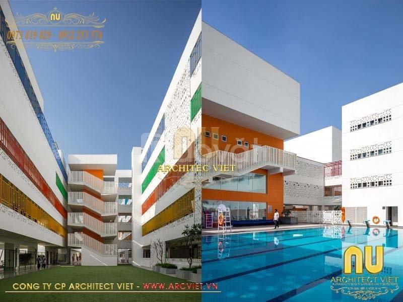 Dự án trường học liên cấp tại thành phố Hà Nội