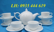 Xưởng cung cấp ấm trà in logo theo yêu cầu khách hàng tại Quảng Nam