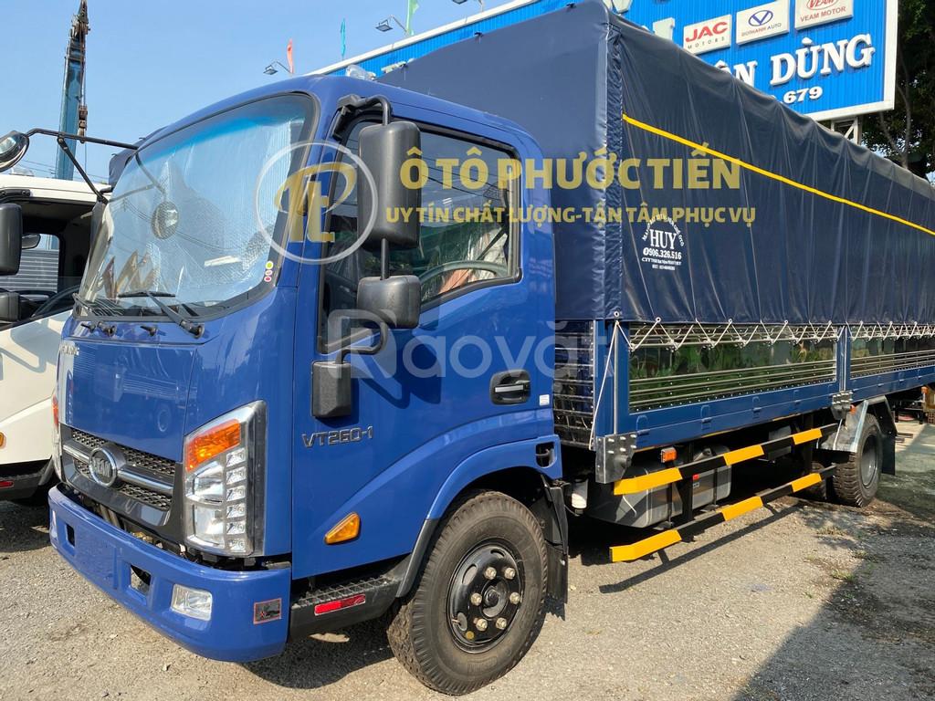 Xe tải thùng dài Veam VT260-1 1t9 thùng 6m