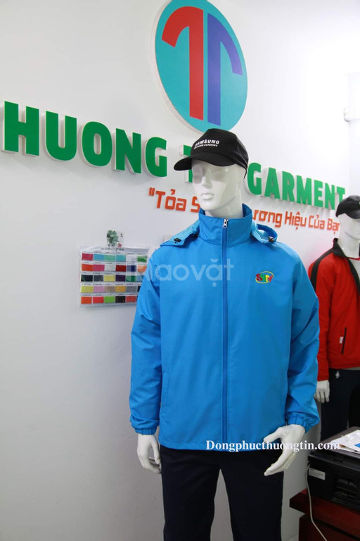 Xưởng may đồng phục áo khoác giá rẻ uy tín