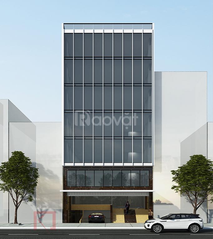 Cho thuê tòa nhà Văn Phòng Phố Đỗ Nhuận - Xuân Đỉnh 46m2*7 tầng, đường ô tô 10m giá 30 triệu/tháng (ảnh 1)