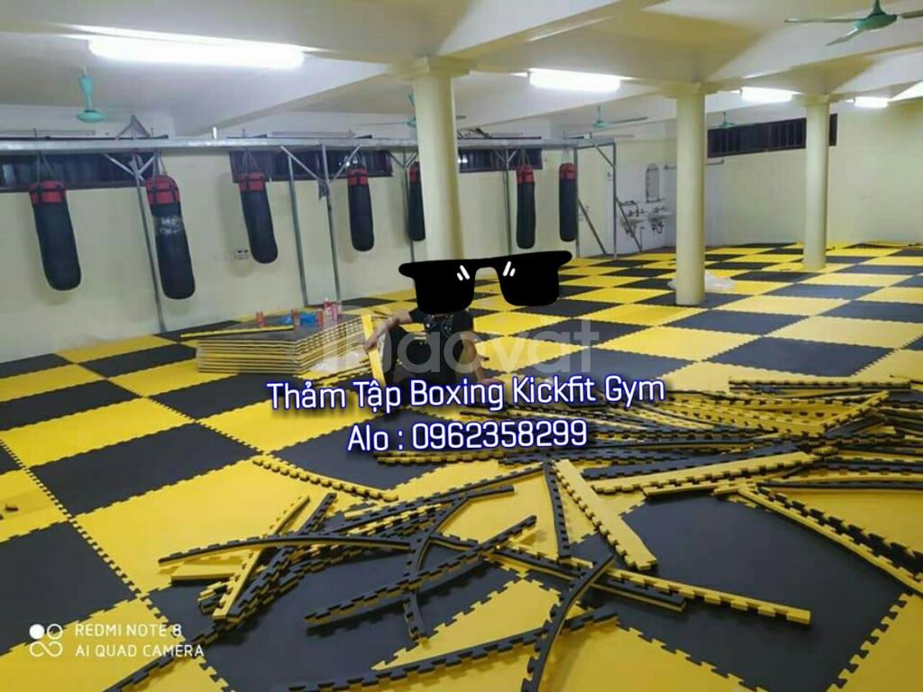 Thảm trải sàn phòng tập