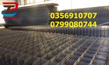 Lưới thép hàn, lưới ô vuông, lưới đổ bê tông D3,D4,D5