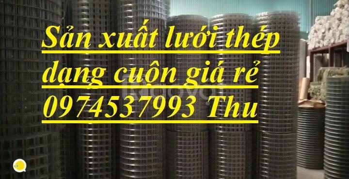 Sản xuất lưới thép hàn đổ sàn bê tông D4(200*200) giá rẻ