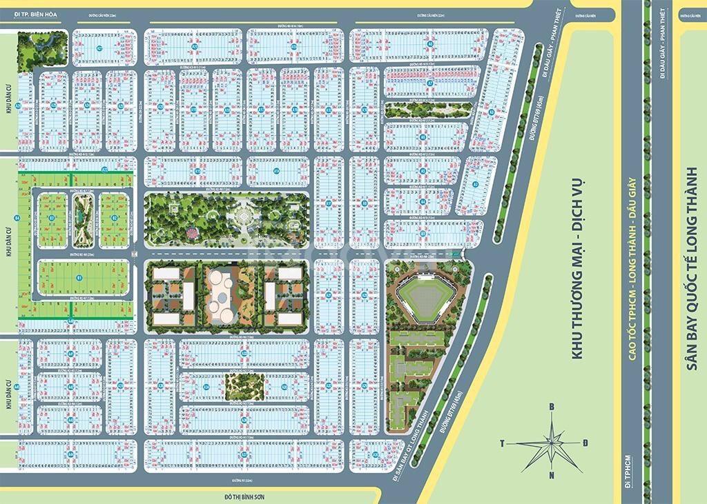 Đất nền Sân Bay Long Thành - Century City