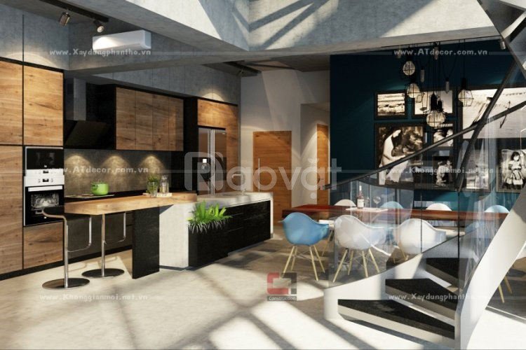 Mẫu thiết kế nội thất căn hộ đẹp TPHCM