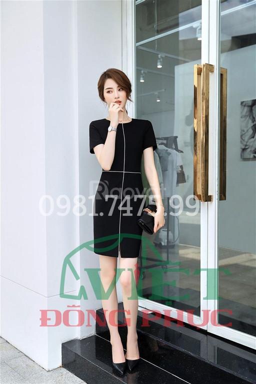 Xưởng may váy liền thân công sở cao cấp, có giá rẻ hiện nay