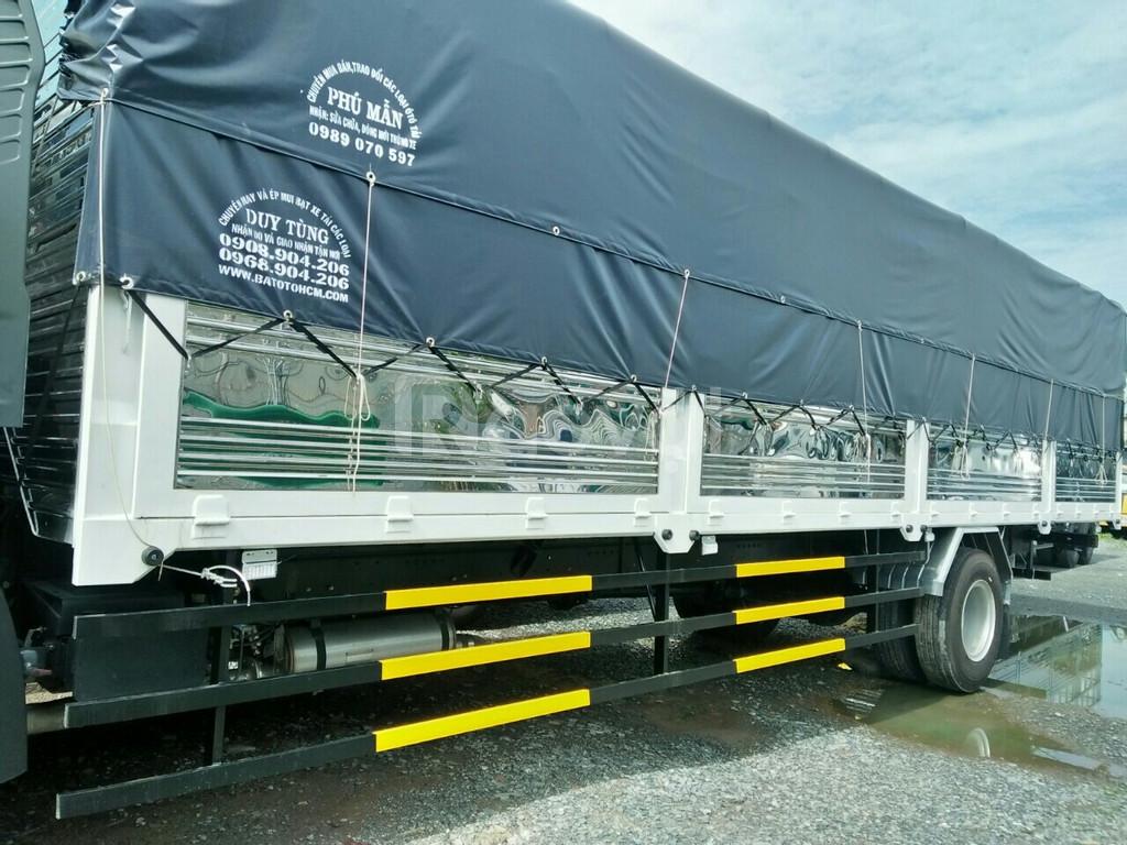 Xe tải FAW thùng dài 9.7m, tải trọng 7t3