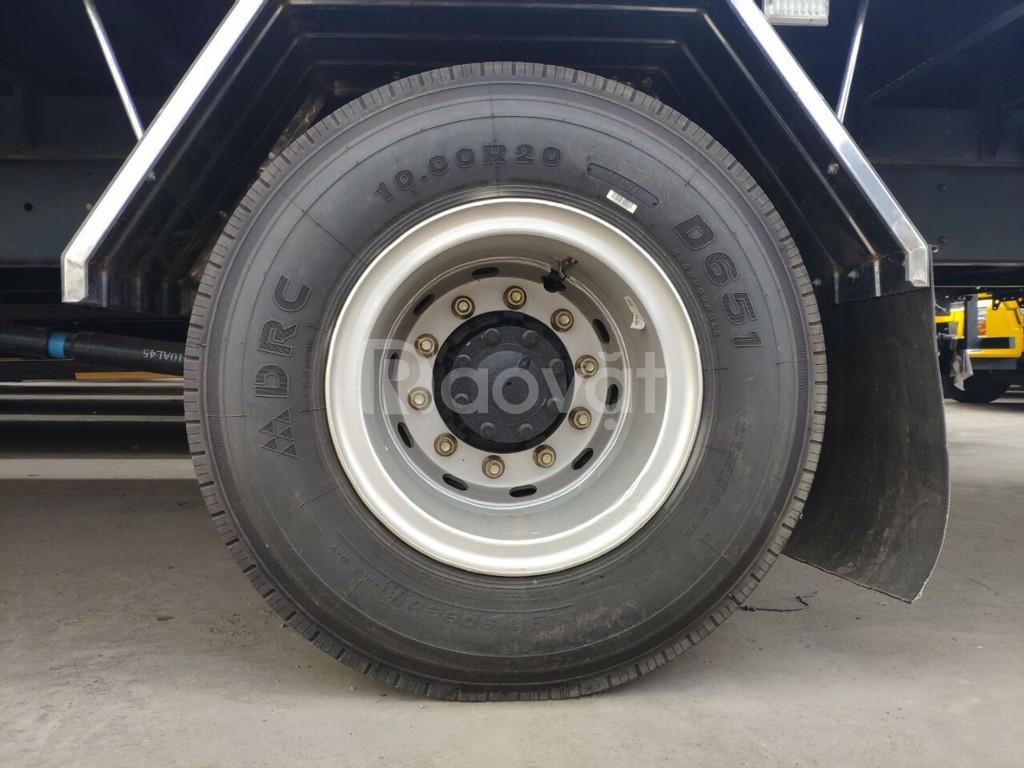 Xe tải faw 8 tấn thùng dài 10 mét chuyên chạy hàng công ty