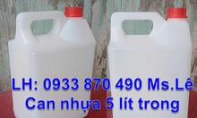 Can hóa chất 500ml vuông, can nhựa 1 lít đựng hóa chất, giá can nhựa 2