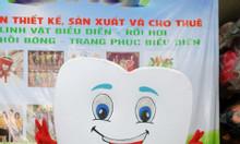 Mascot mô hình chiếc răng
