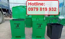 Cung cấp thùng rác y tế 15 lít 20 lít có in logo y tế